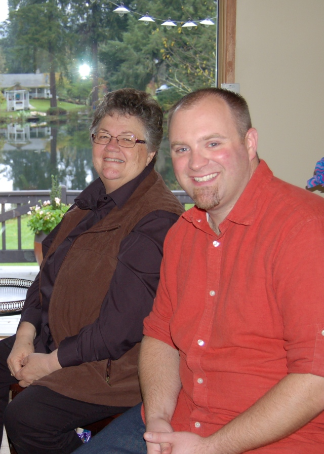 Kathy and Brian