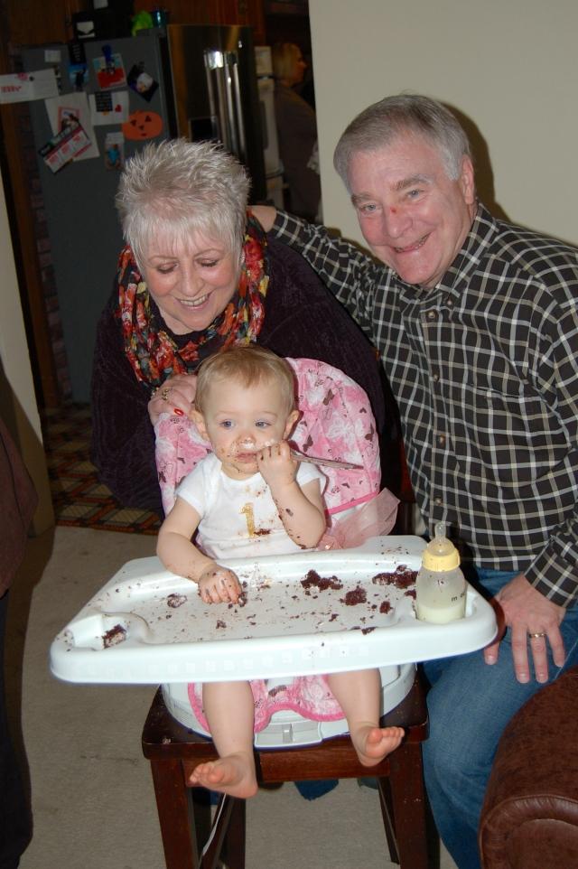 Nana, Papa and Piper