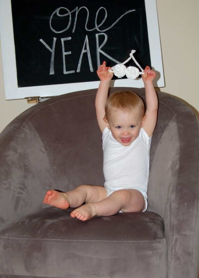 Piper's One Year Old!