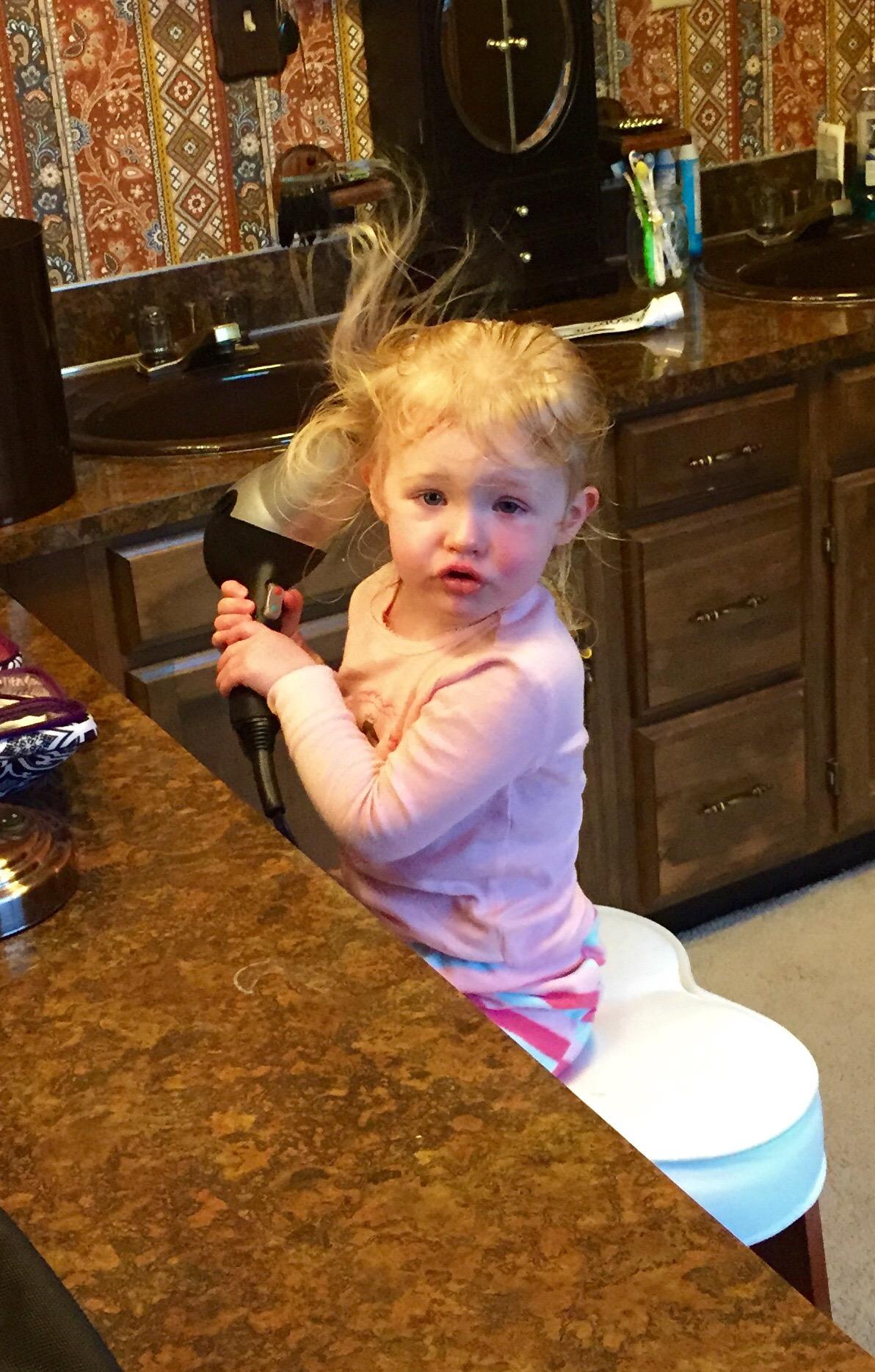 Hair drying master