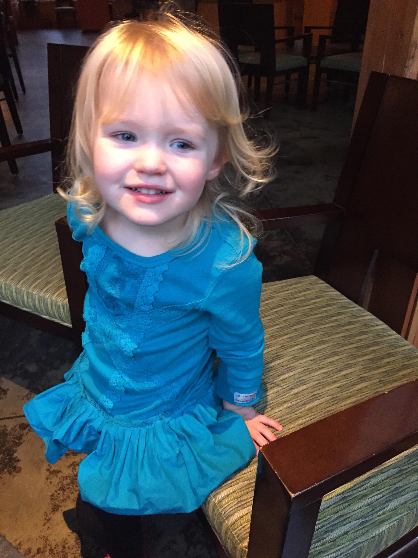 Blue dress lover